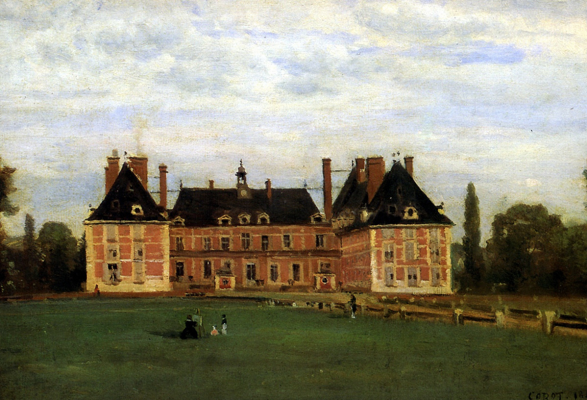 Камиль Коро. Замок герцогини Беррийской