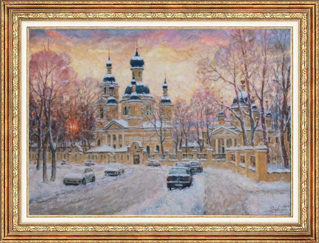 Igor Razzhivin. The snowy silence.
