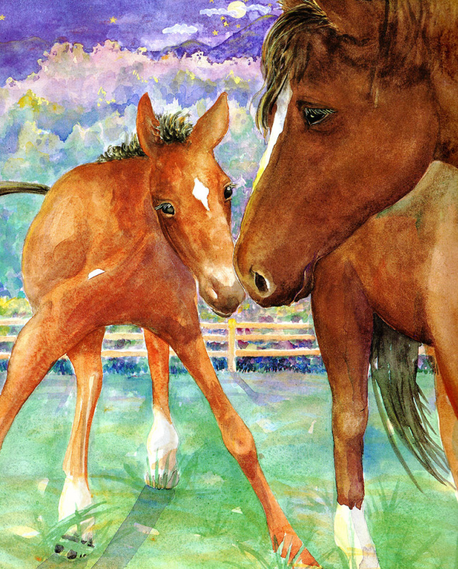 Джейн Дайер. Лошади