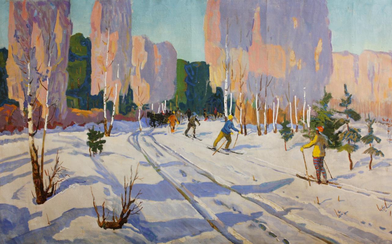 Evgeny Vsevolodovich Volobuev. Skiers