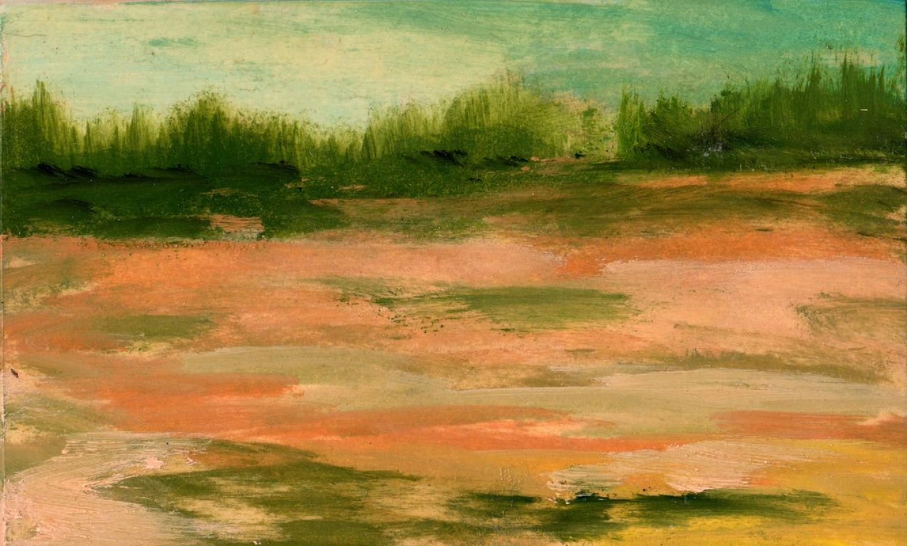 Vladimir Vasilyevich Abaimov. Desert Landscape