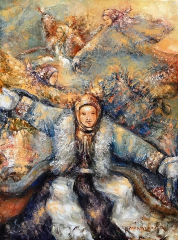 Любовь Маковская. Хантыйский танец