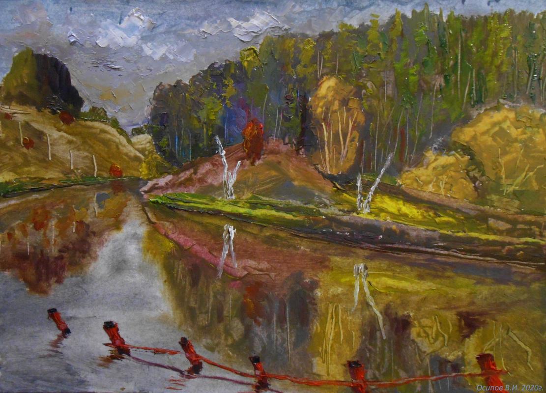 Владимир Иванович Осипов. Venevskaya autumn