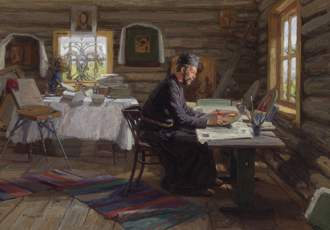 Фёдор Борисович Фёдоров. Icon painter Ilya