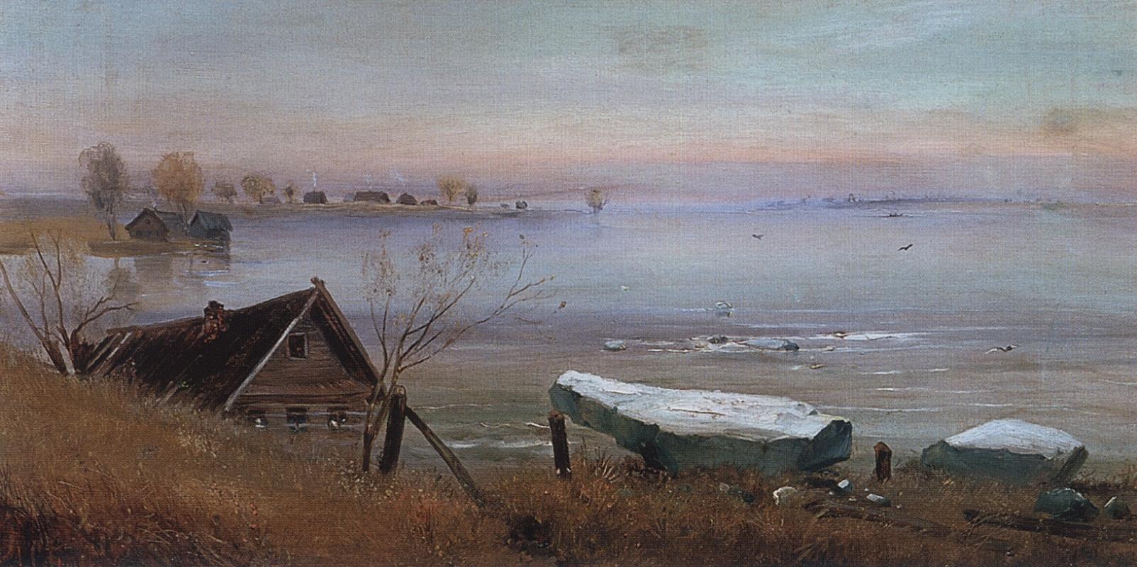 Алексей Кондратьевич Саврасов. Весна. На большой реке