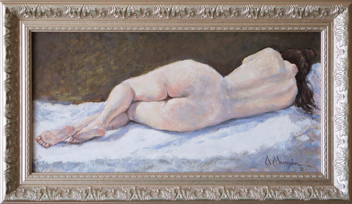 Alexander Matyukhin. 2020 sketch nu_2s (20x40 cm)