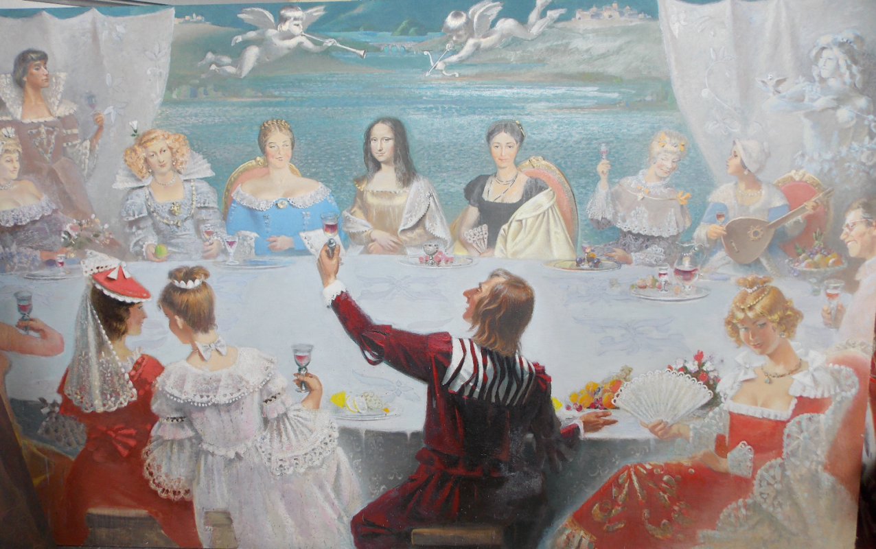 """Anatoly Alekseevich Bolkhontsev. Toast """"For lovely women"""""""