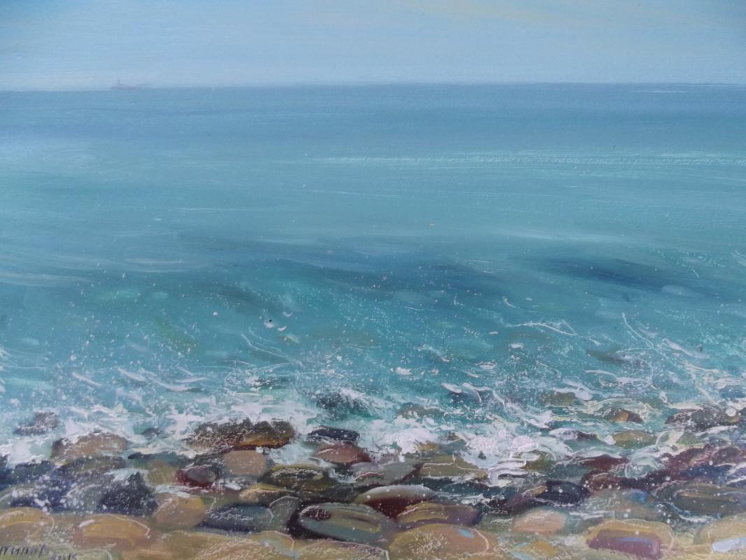 Konstantin Leonidovich Antipov. Aquamarine waves
