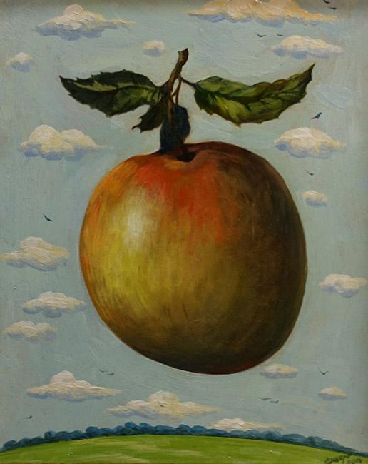Олег Егорович Щербатых. Притяжение яблока.  2016