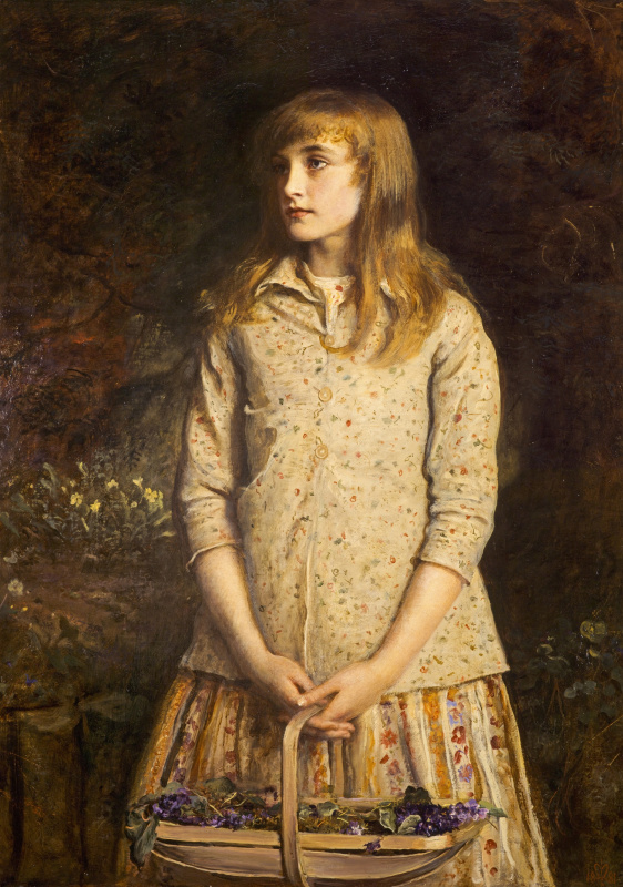John Everett Millais. The sweetest eyes that ever seen