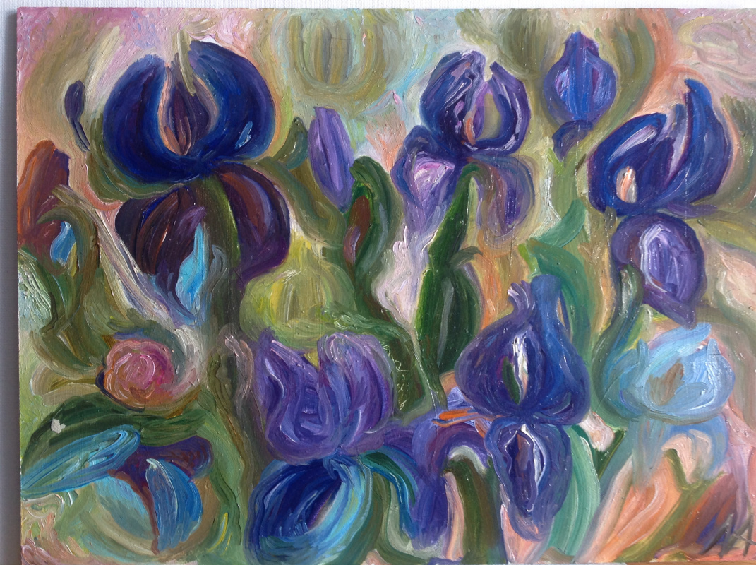 Agnes Carrot. Irises