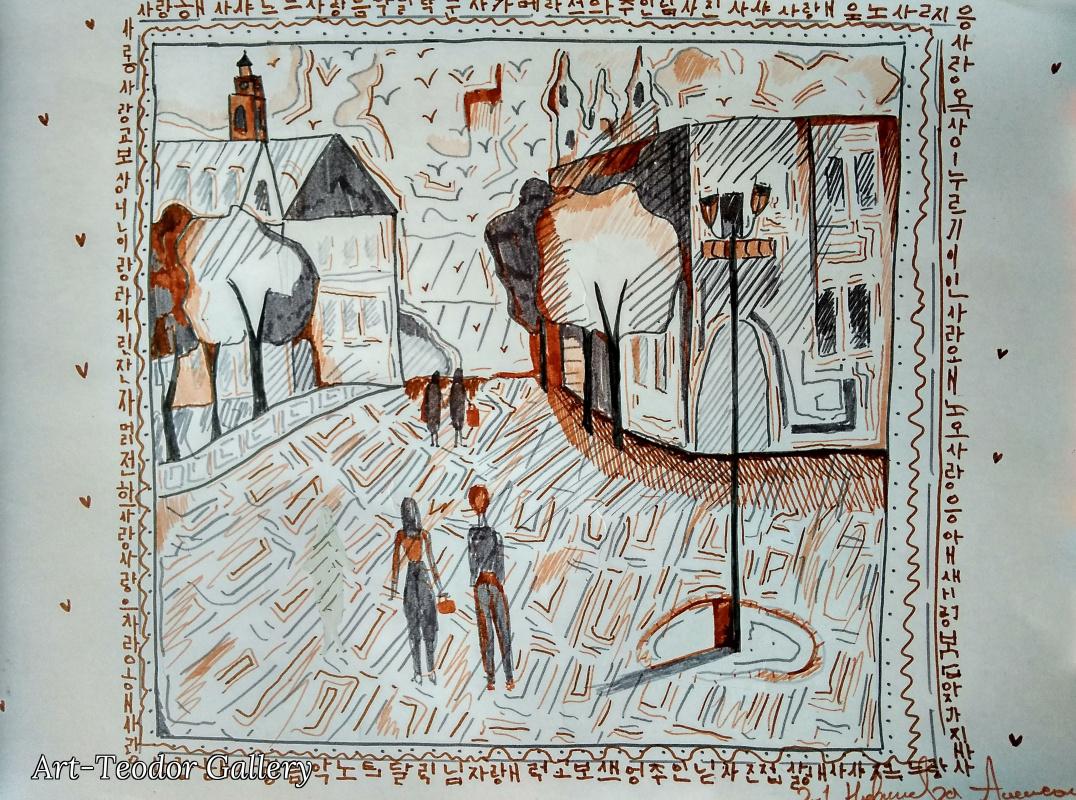 Art-Teodor Gallery. Картина Суворова
