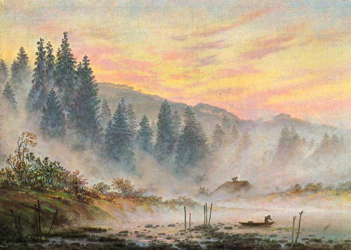 Каспар Давид Фридрих. Утро