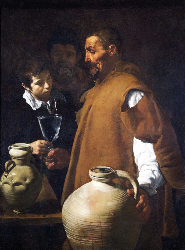 Diego Velazquez. The water carrier of Seville