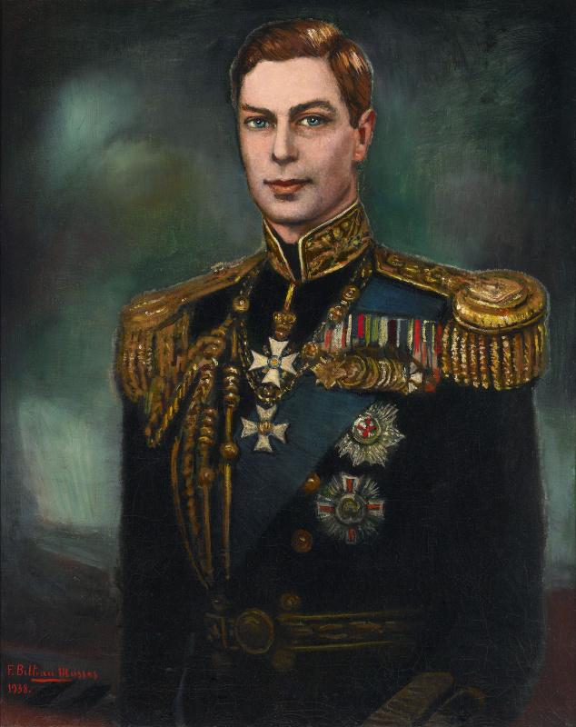 Федерико Бельтран Массес. Портрет короля Георга VI