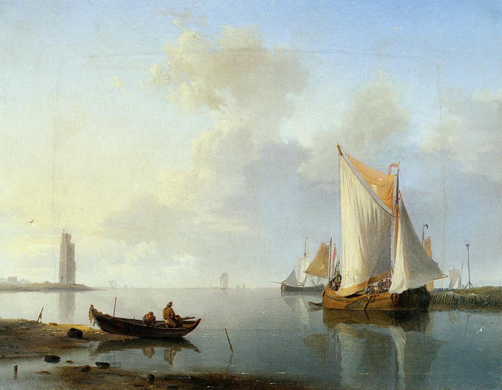 Herman Kukkuk. River landscape