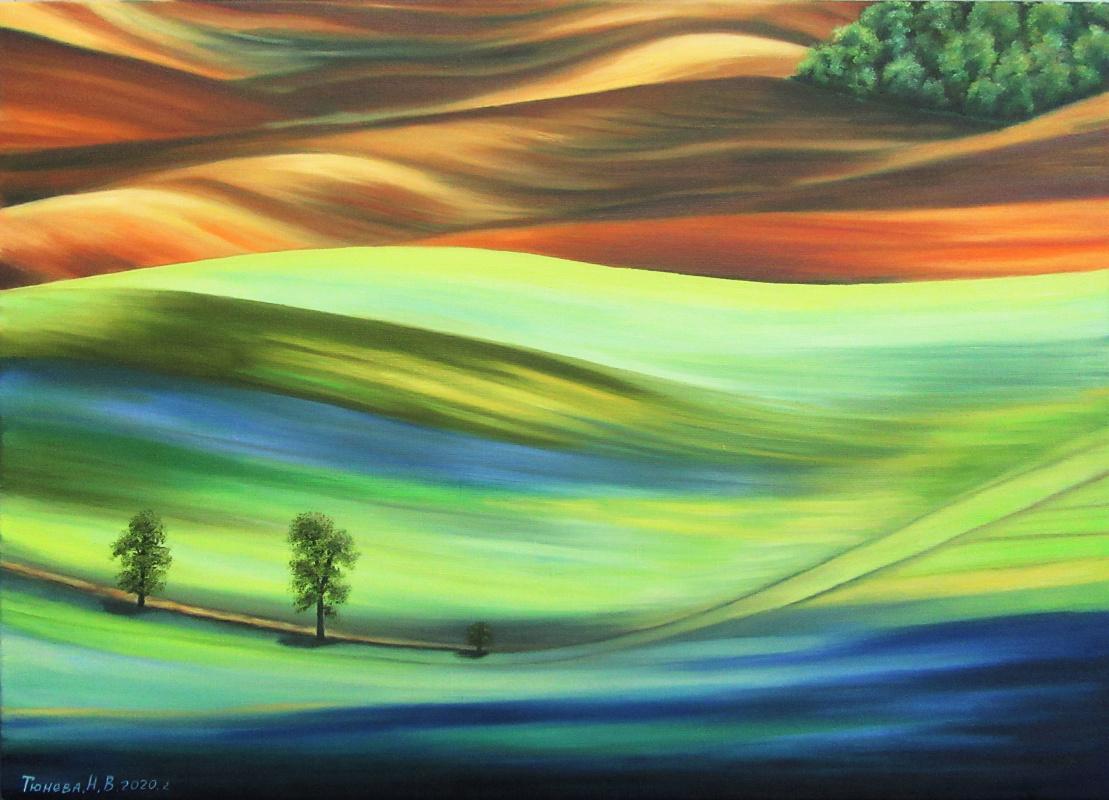 Natalia Viktorovna Tyuneva. Colorful valley 2