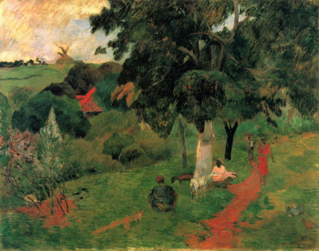 Paul Gauguin. The coming and going, Martinique