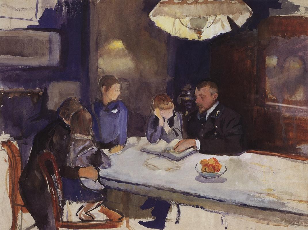 Zinaida Serebriakova. Family portrait