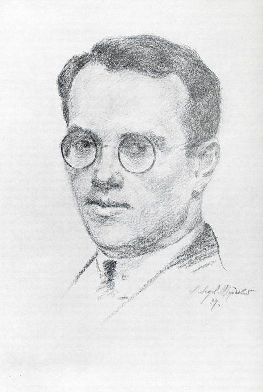 Анатолий Адрианович Лебедев-Шуйский. Автопортрет