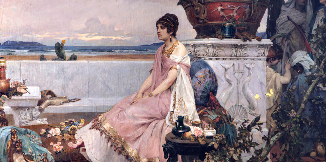 Pavel Alexandrovich Svedomsky. Roman woman by the water
