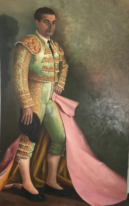 Manuel Menéndez-Chacón. Antonio Bienvenida