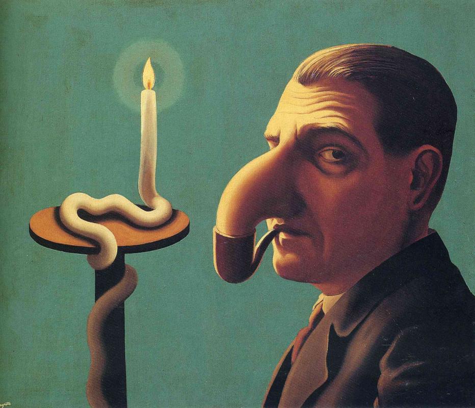 Рене Магритт. Лампа философа