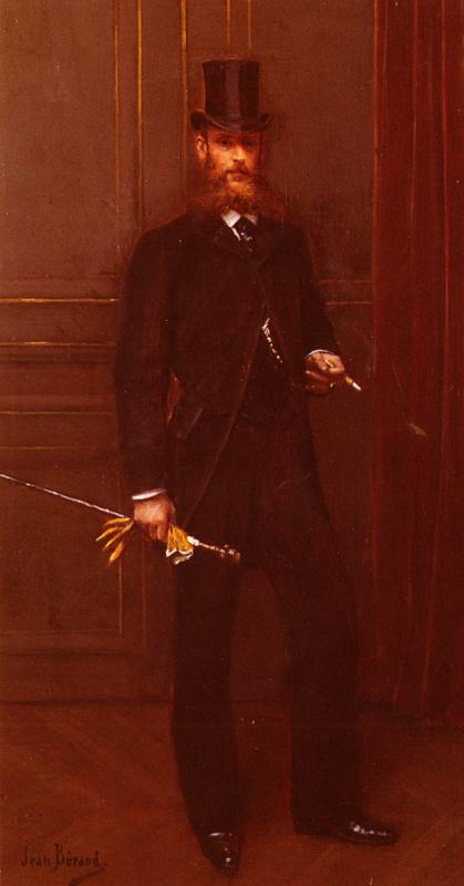 Жан Беро. Портрет элегантного мужчины