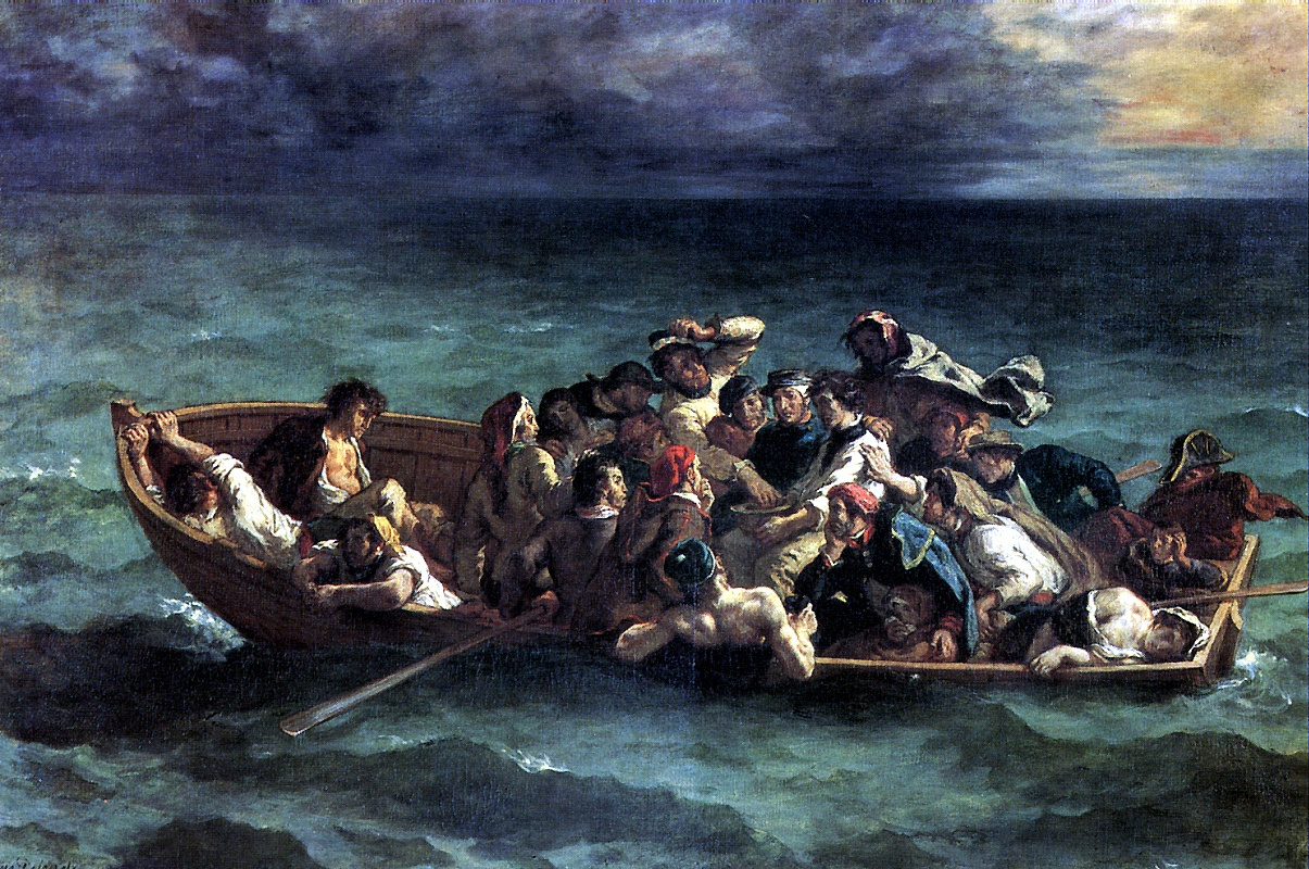 Eugene Delacroix. The Shipwreck Of Don Juan