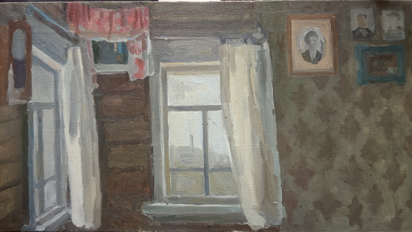 Anna Glazunova. Great-grandfather's house