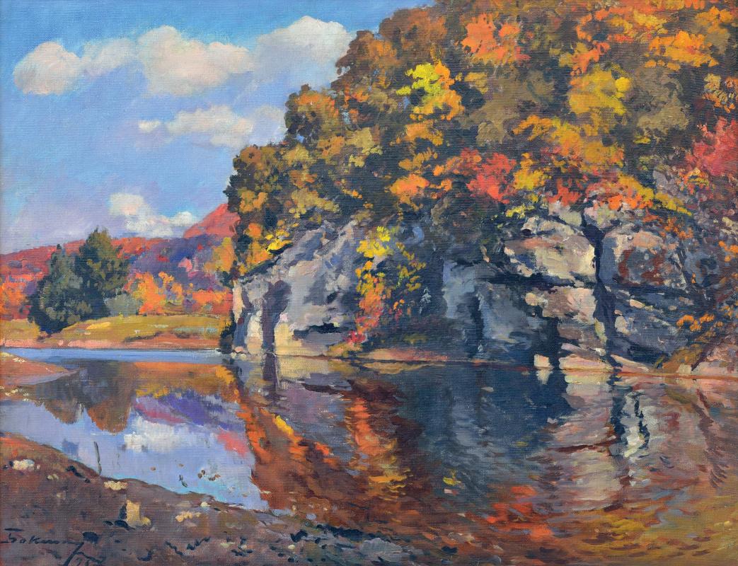 Joseph Iosifovich Bokshay. Autumn Rolling Pin