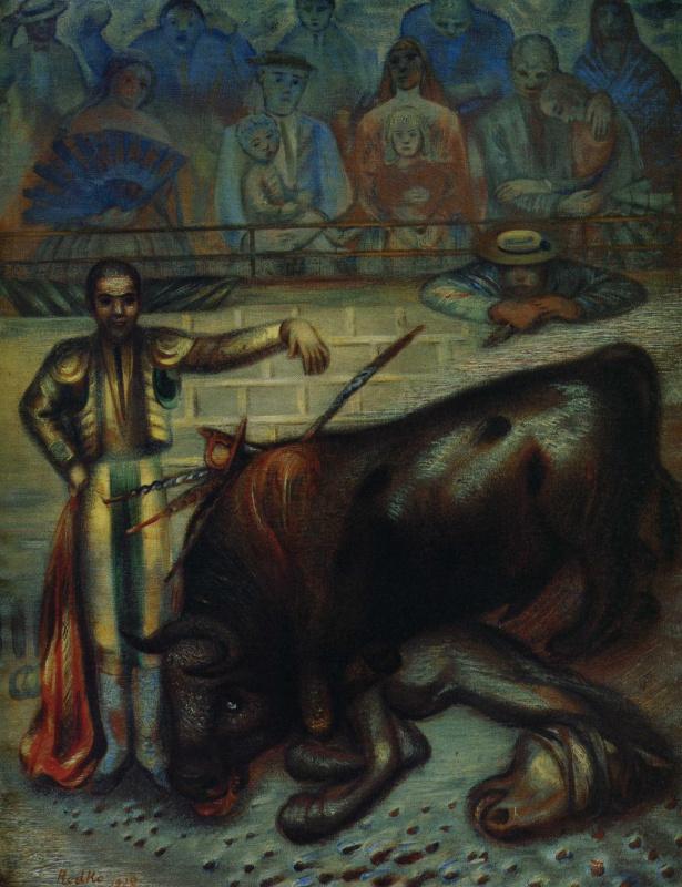 Климент Николаевич Редько. Бой быков в Испании