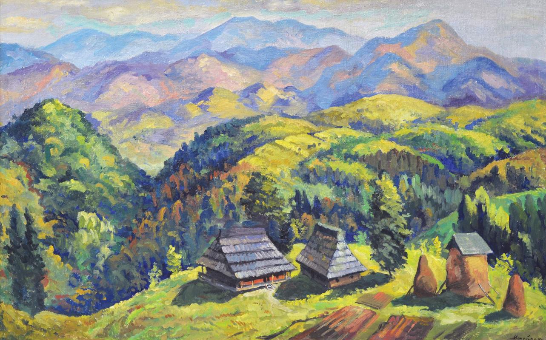 Фёдор Федорович Манайло. Карпатский пейзаж
