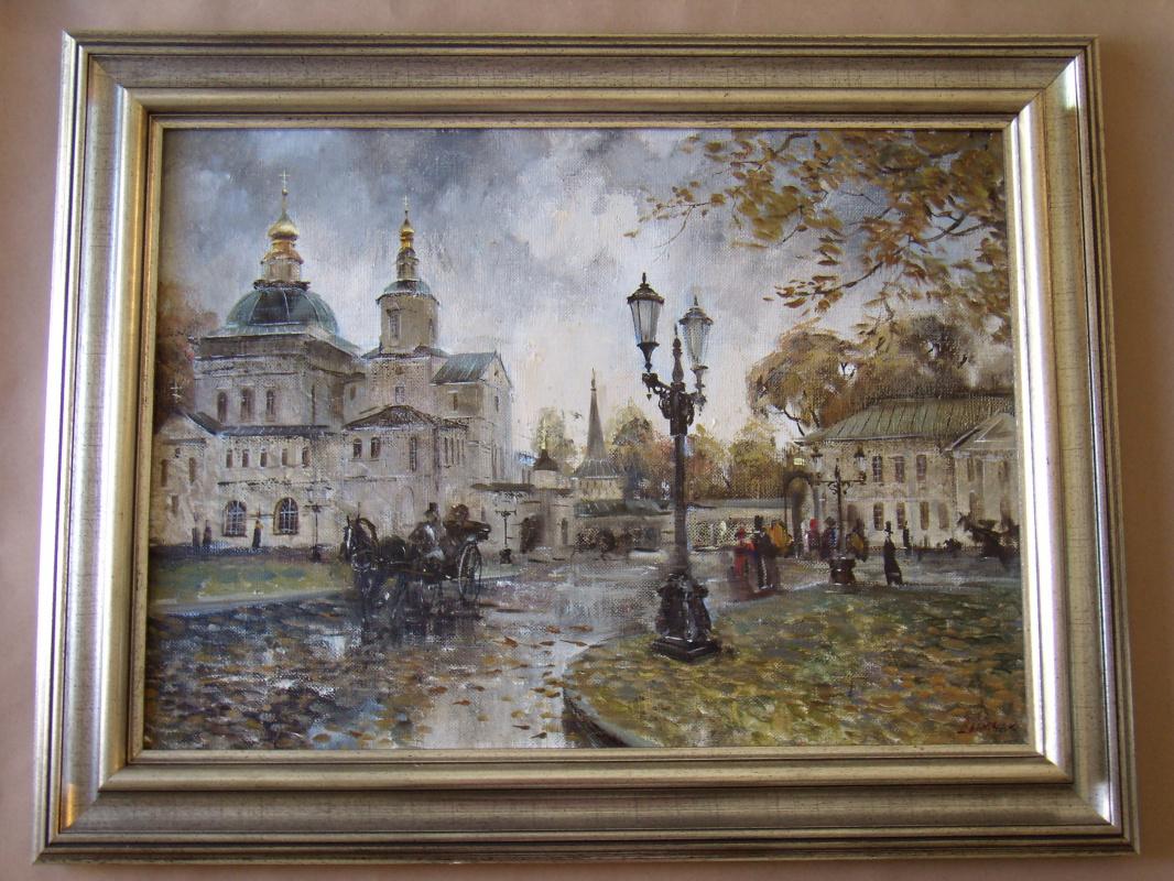 Unknown artist. Свято-Данилов монастырь. Москва.