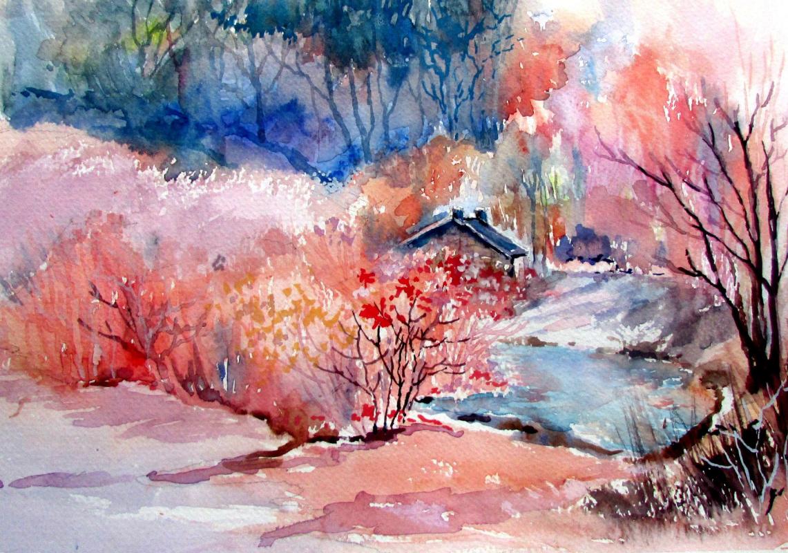 Maureen Tomaino. Pinkish Decor