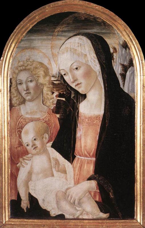 Франческо ди Джорджио Мартини. Мадонна со Спасителем
