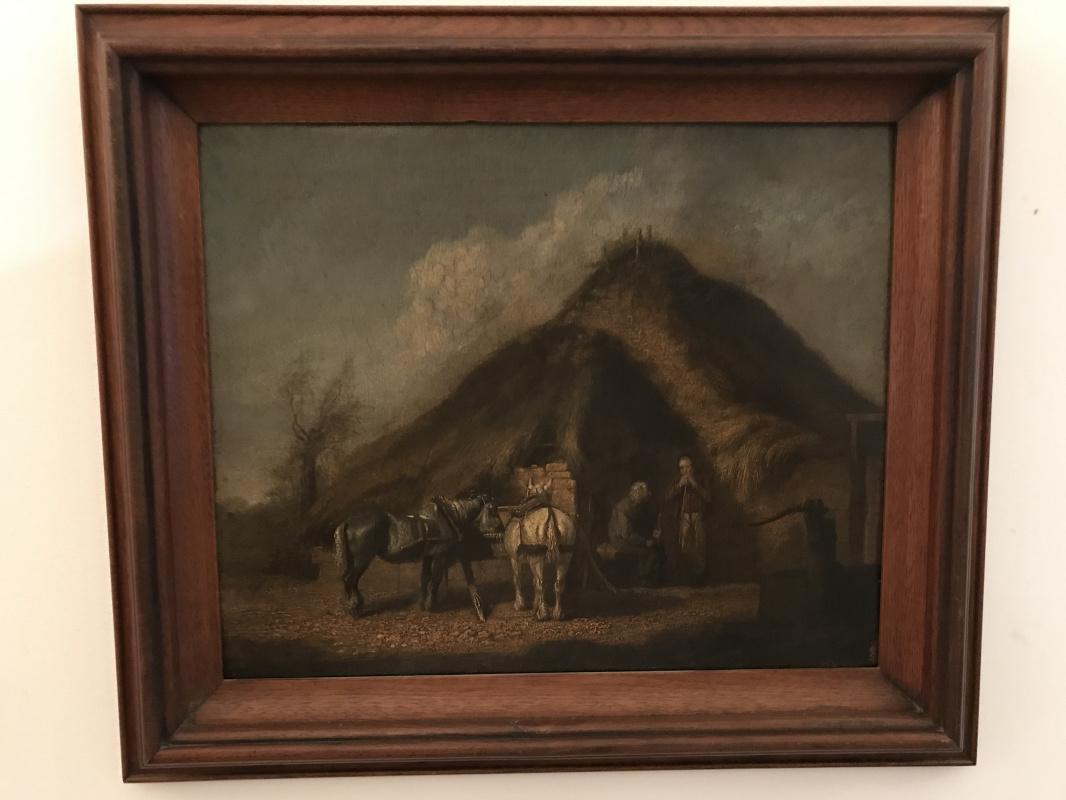Jean Antoine Watteau. Resting From A Journey