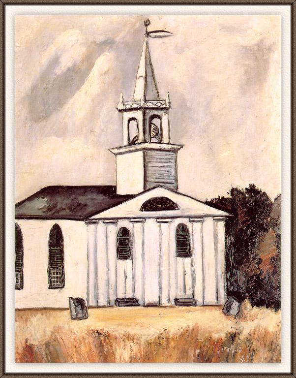 Марсден Хартли. Церковь