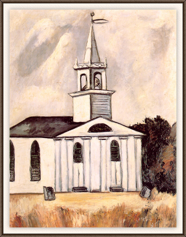 Marsden Hartley. Church