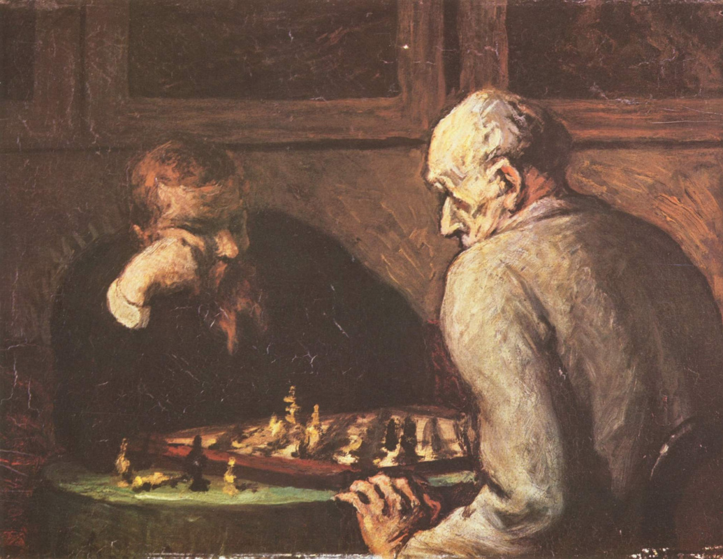 Honore Daumier. Actors