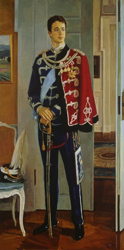 Дмитрий Дмитриевич Жилинский. «Портрет Крон-принца Федерика Датского» 1993-1995
