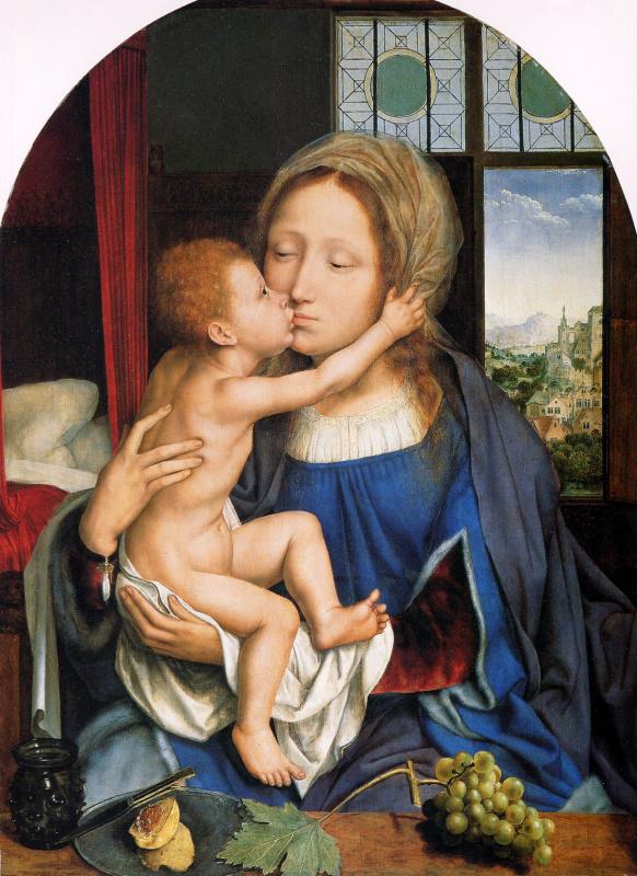 Ку Метсус. Мадонна с младенцем