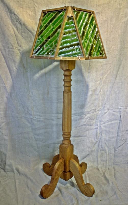 Nikolay Igorevich Drozhdin. Floor Lamp Oak