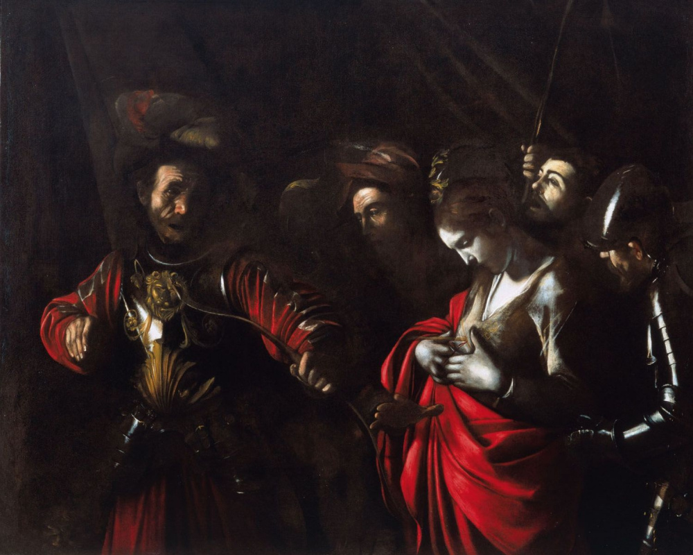 Michelangelo Merisi de Caravaggio. The martyrdom of St. Ursula
