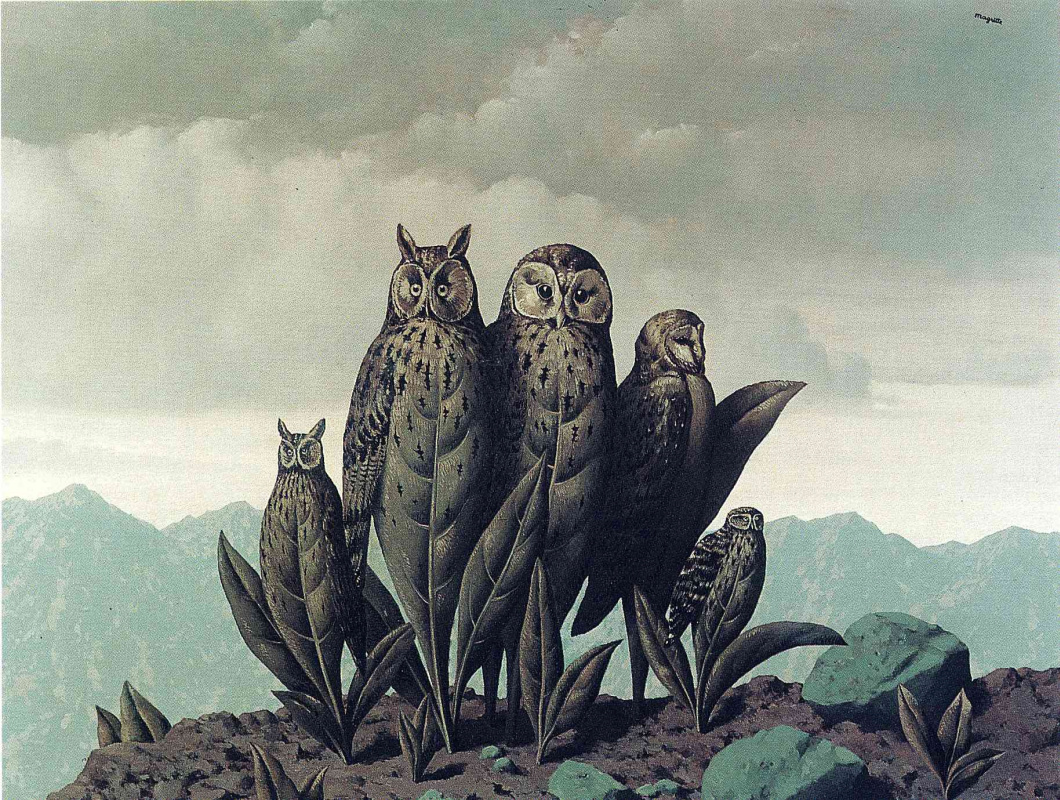 René Magritte. The companions of fear