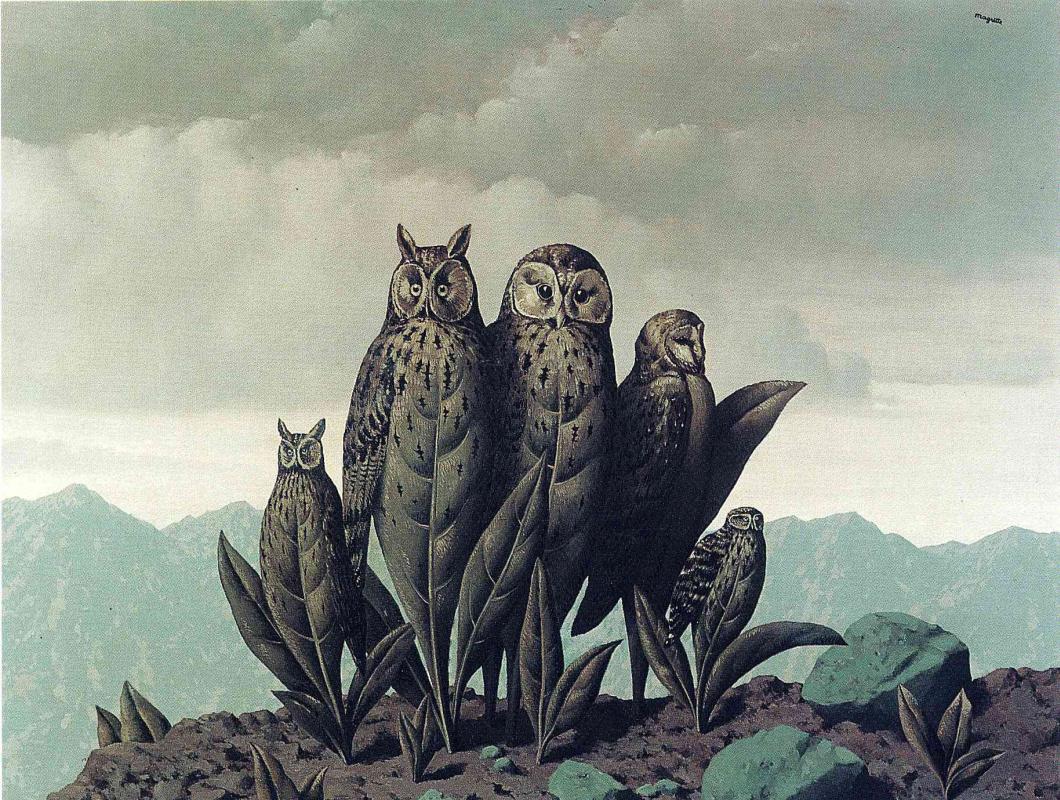 René Magritte. The companions of fear