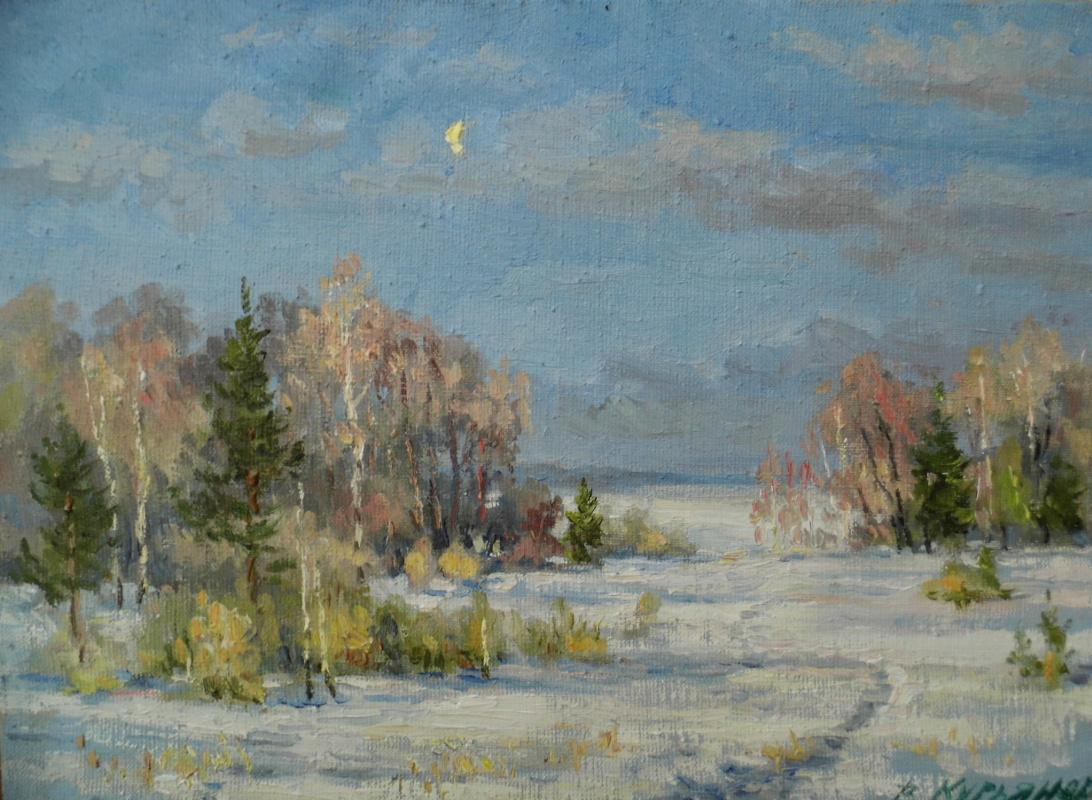 Victor Vladimirovich Kuryanov. Getting dark