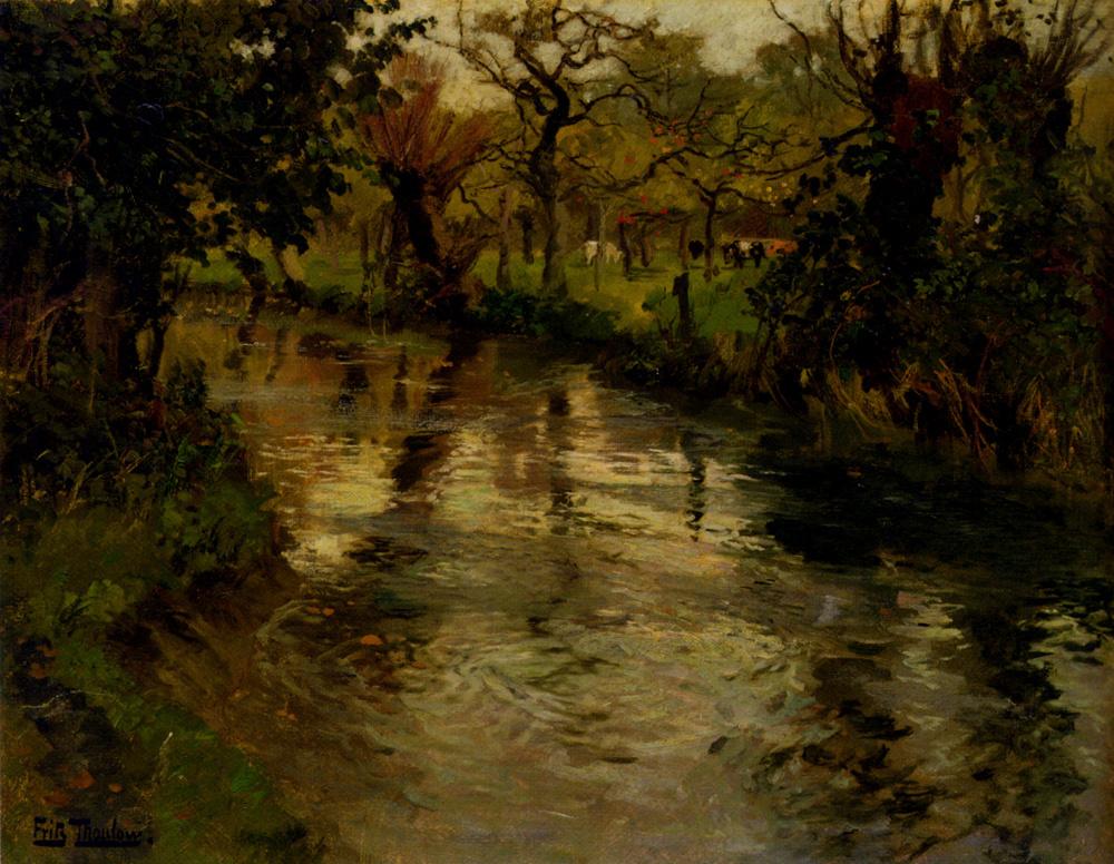 Frits Thaulow. Water