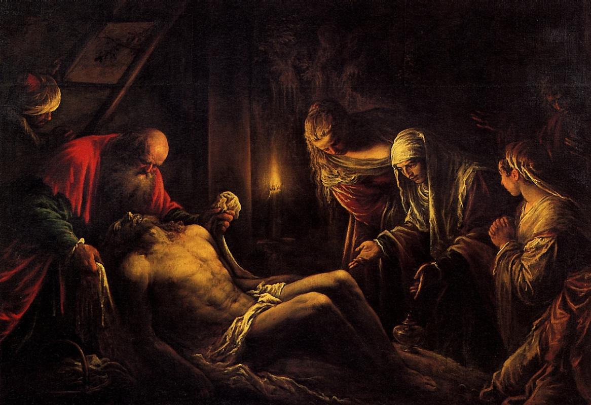 Jacopo da Ponte Bassano. The descent from the cross