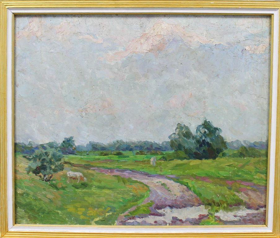 Анатолий Владимирович Трескин. Summer Landscape